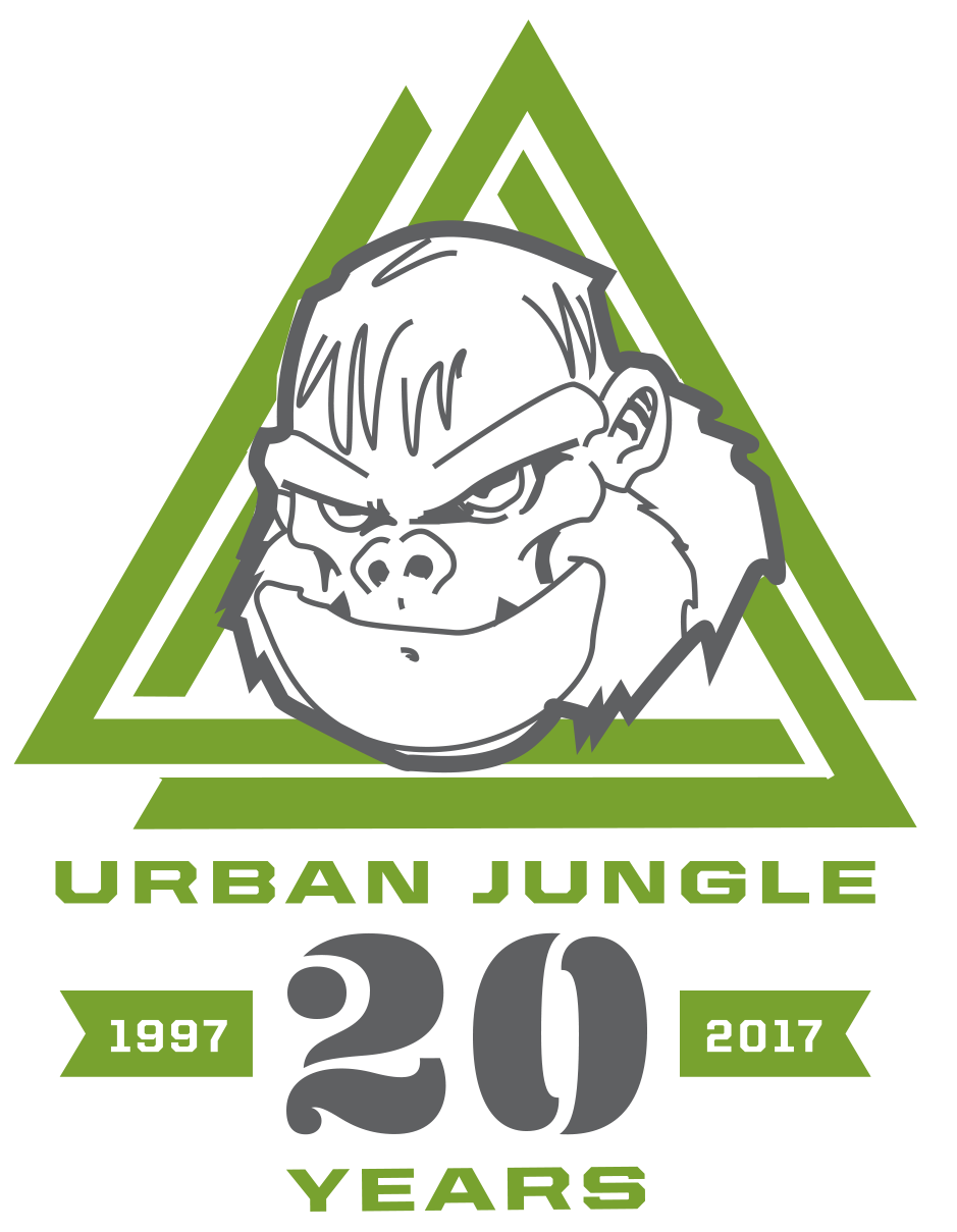Urban Jungle 20th Anniversary logo