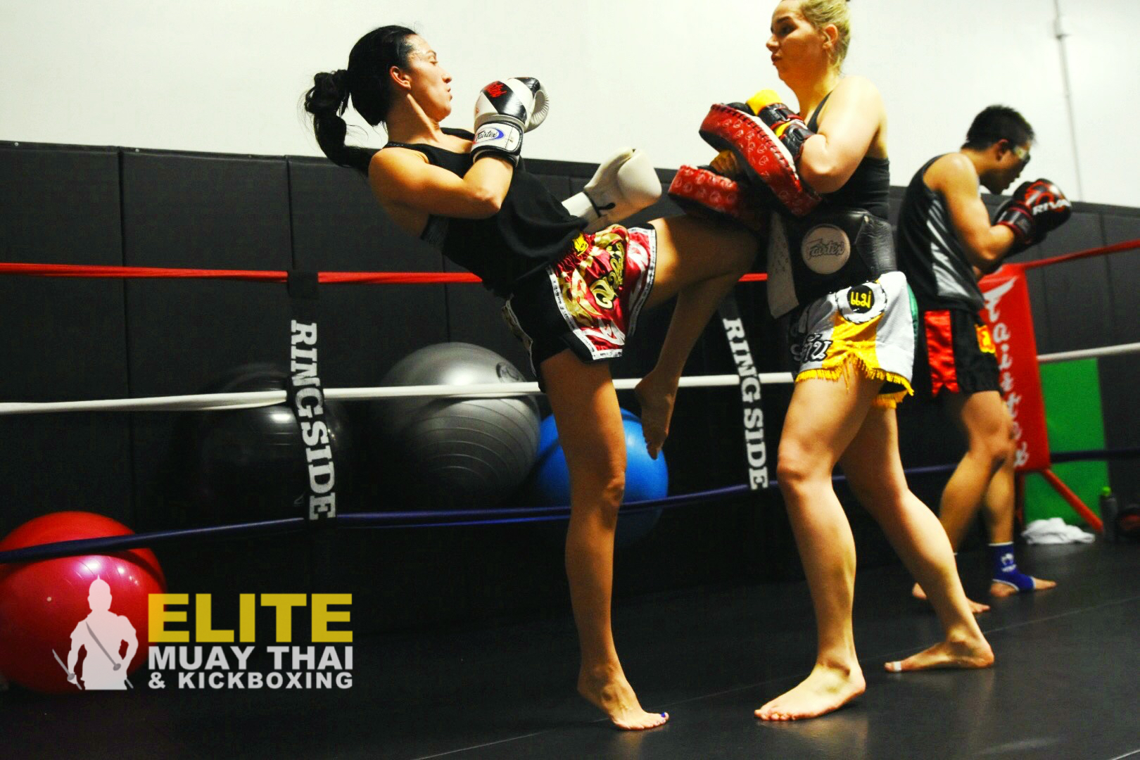 women muay thai fighters in calgary