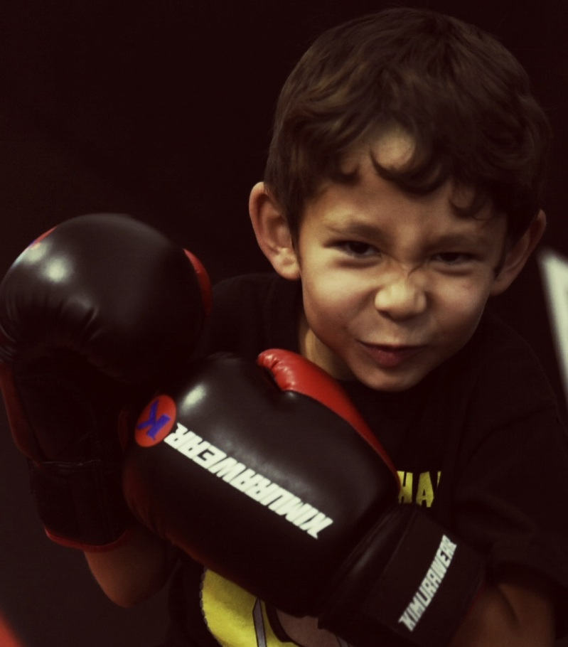 children's martial art student in calgary